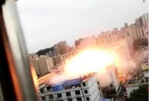 深圳龍華電子廠爆炸 現場影片曝光