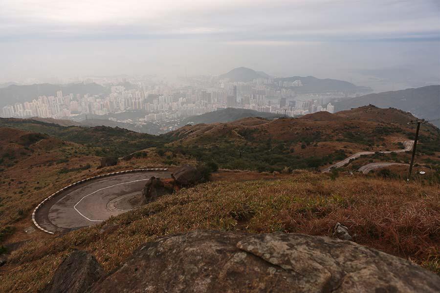 香港之最——大帽山。(陳仲明/大紀元)