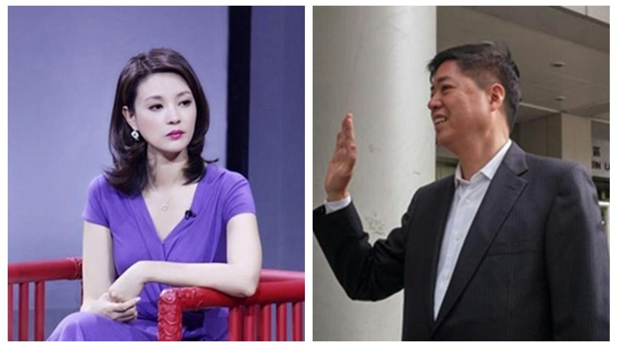 央視美女主播劉芳菲的丈夫、香港富商劉希泳離奇死亡後,他生前旗下的物業日前被低價出售。(合成圖片)