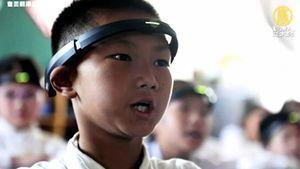 大陸小學生被戴AI頭環 監控腦電波