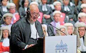 終院首席法官馬道立  2021年1月退休