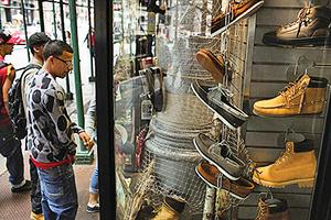 走私冒牌貨八年紐約華裔鞋商被起訴