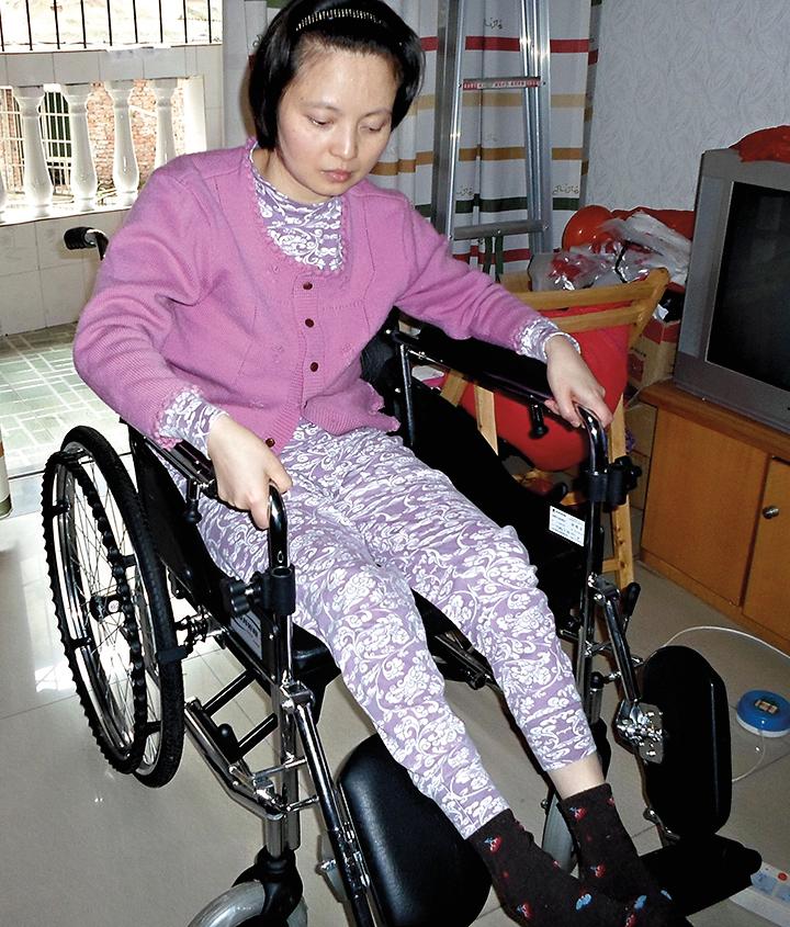 重慶法輪功學員趙鳳霞被勞教所迫害致殘,近日含冤離世。(明慧網)