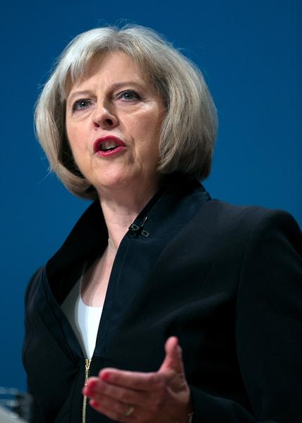 現任內政大臣文翠珊當選英國保守黨領袖和英國首相已無懸念。(Getty Images)