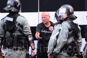 【112求援國際 維園大集會】集會未開始 警察開始抓人