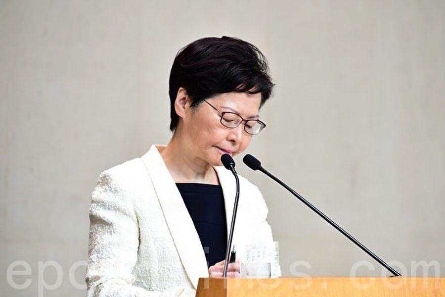 香港局勢紊亂 林鄭月娥多個做法反常