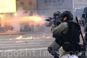 【11.2維園集會】港人求援國際集會 警狂射催淚彈抓多人