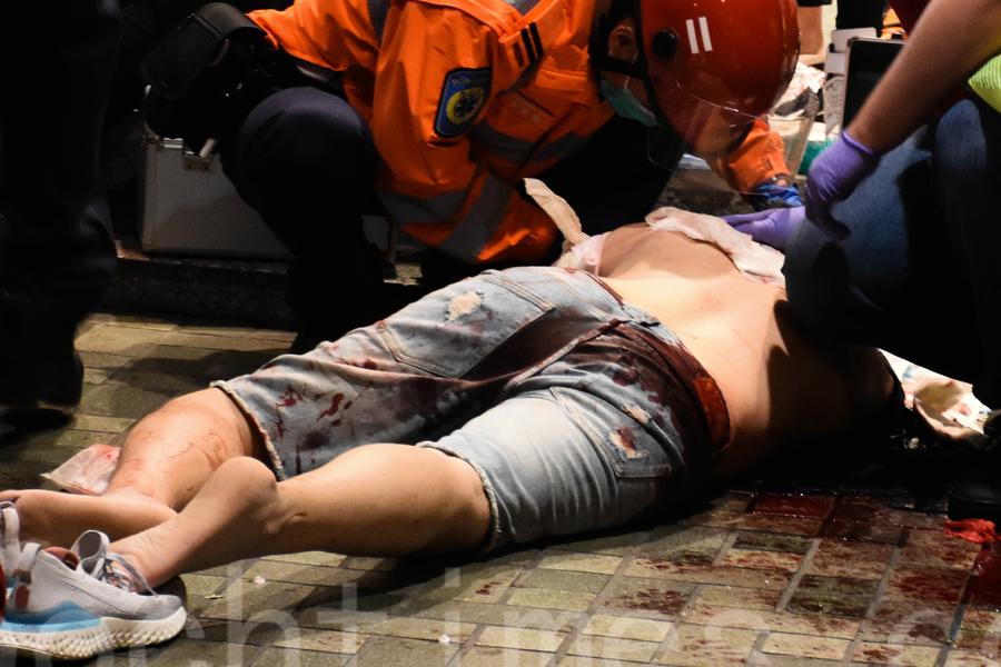 太古城中心4人被砍傷 兇手說普通話 疑點重重