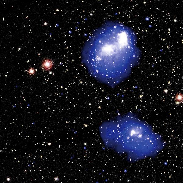 四星系團 罕見碰撞 將合併成龐大天體