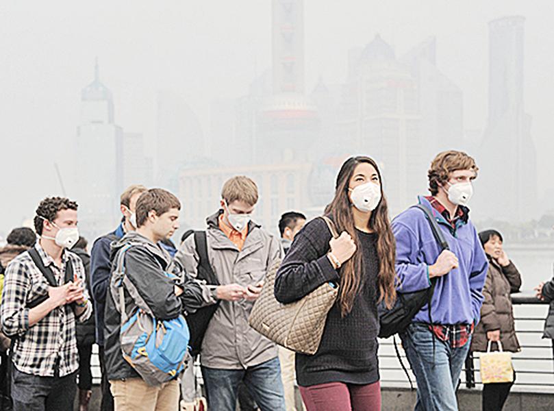 空氣污染危害中國人折壽2年