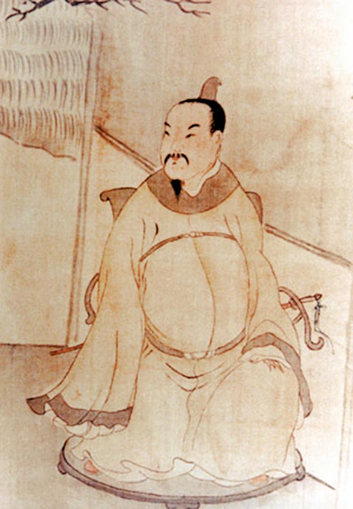 熊廷弼,字飛百,號芝岡。馮夢龍是他的門下之士(公有領域)