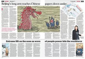 澳媒關注中共控制海外中文媒體