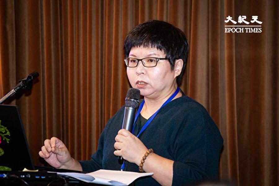 清華大學社會學研究所副教授古明君表示,當前中共統戰台灣宮廟的問題嚴峻,但仍有很多信眾認為這是抹紅或污衊,這是台灣社會對中共因素沒有基本的警覺與應對能力。(陳柏州/大紀元)