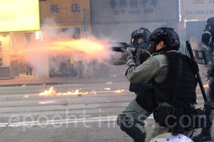 四中全會後警暴再升級 揭秘中共港版「超限戰」