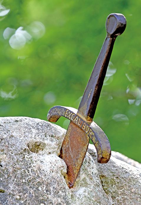 「王者之劍」示意圖。(Shutter Stock)