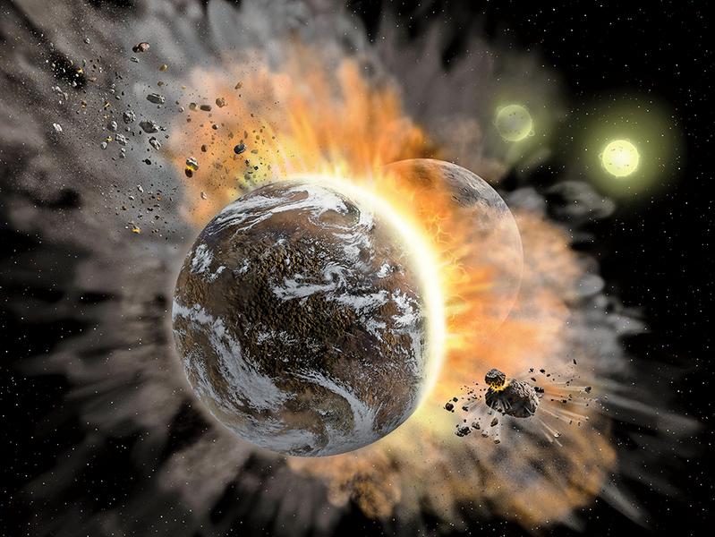 兩顆系外行星災難性對撞 對科學家有何啟示?