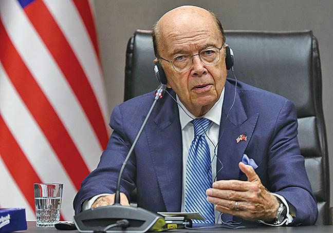 美國商務部長羅斯11月3日表示,中美貿易談判正取得積極進展。(AFP)