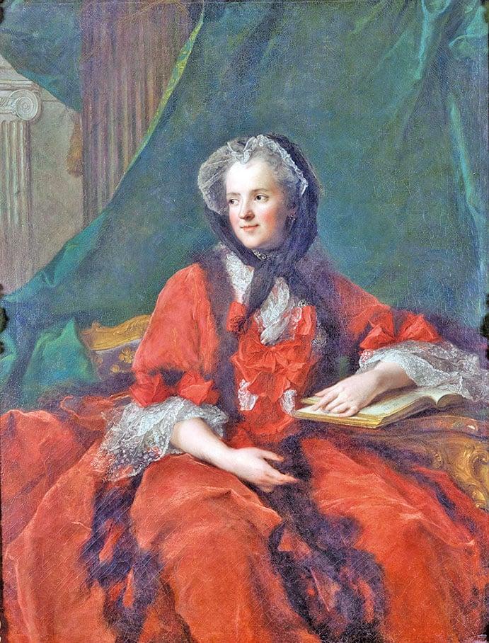 讓-馬克納蒂爾(Jean-Marc Nattier)於1748年繪製的瑪麗王后肖像。凡爾賽宮國家博物館和特里亞農宮收藏。﹝克里斯托弗福因/凡爾賽宮(RMN-GP)﹞