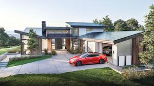 特斯拉第三代太陽能屋頂 即將投產