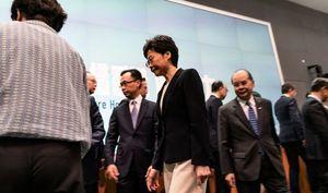 消息:港府內部曾考慮特赦抗爭者 林鄭不同意