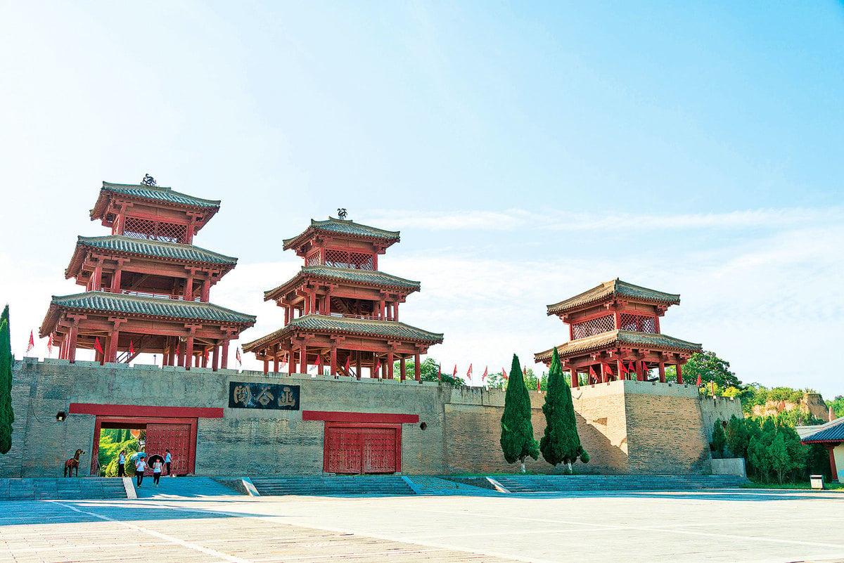 函谷關由秦國所建,中國四大古關口之一。因「路在谷中,深險如函」而得名。(shutterstock)