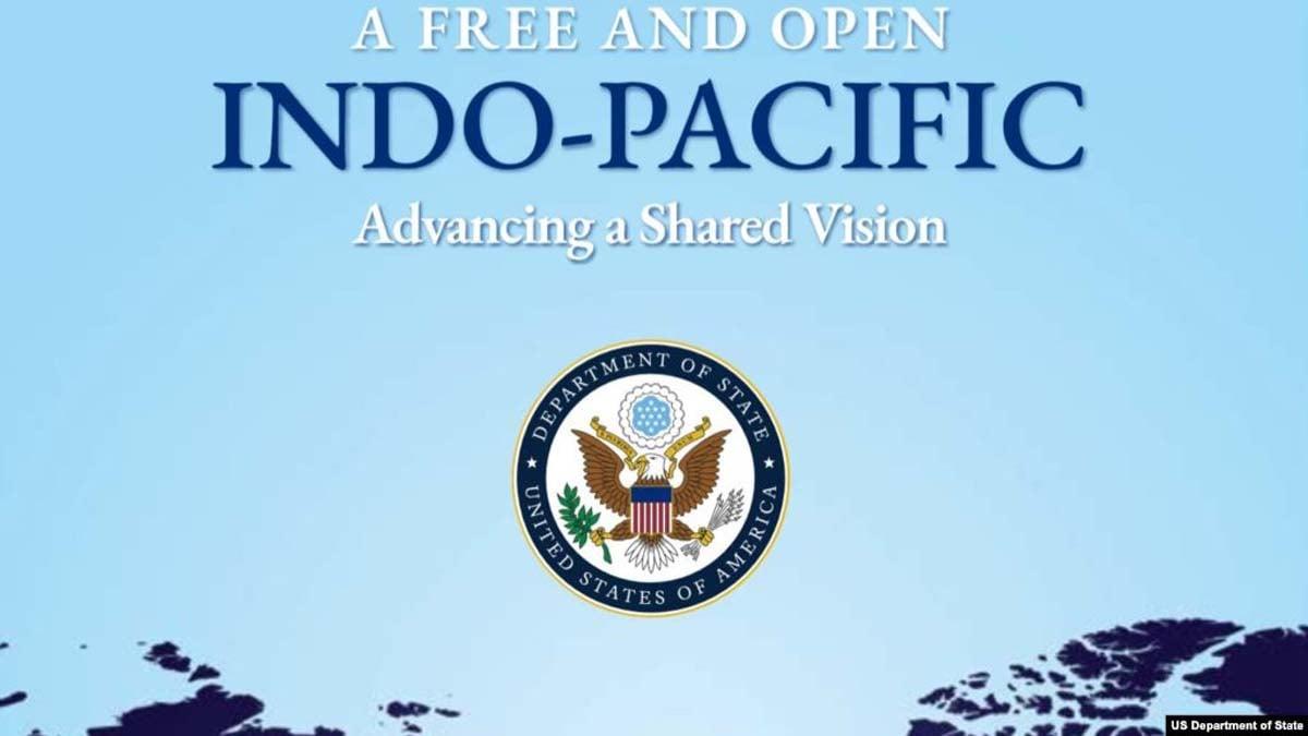 本屆東盟峰會期間,美國政府發佈報告《一個自由開放的印度-太平洋:推進共享願景》,其中提到香港問題。(美國國務院官網)