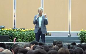 科大校長與學生對話 關注周同學受傷事件