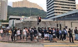 吳傲雪及多名8.31被捕者成功「踢保」
