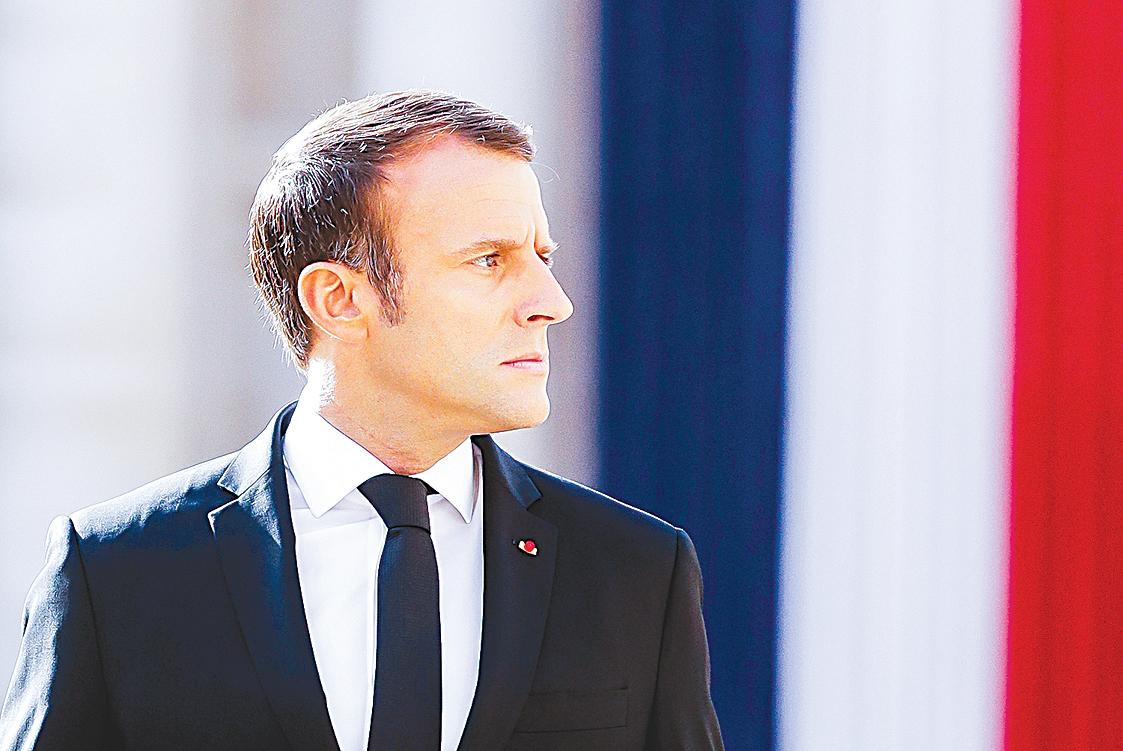 梁家傑希望法國總統馬克龍訪問北京時,提及香港問題。(Getty Images)