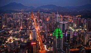 貿戰重創「改革象徵」 深圳經濟死火GDP史上最低