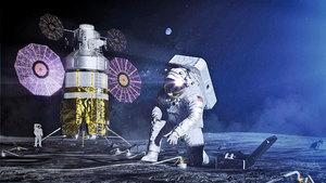 NASA為探月開發充氣太空棲息地