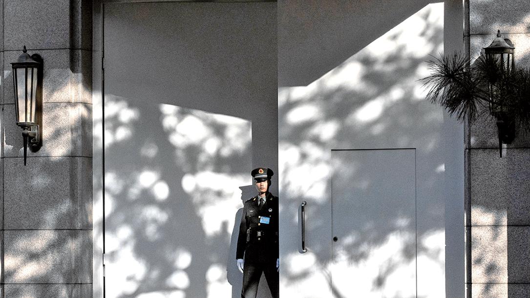 神秘的京西賓館是中共高層會議主要召開之地,同時也見證了中共歷次危機。(Getty Images)