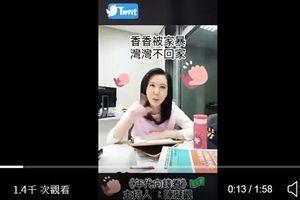 台灣女主播回嗆央視女主播影片 網絡熱傳