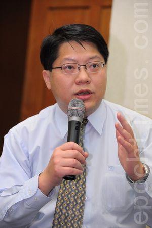 台灣公民陣線發起人賴中強律師,資料照。(宋碧龍/大紀元)