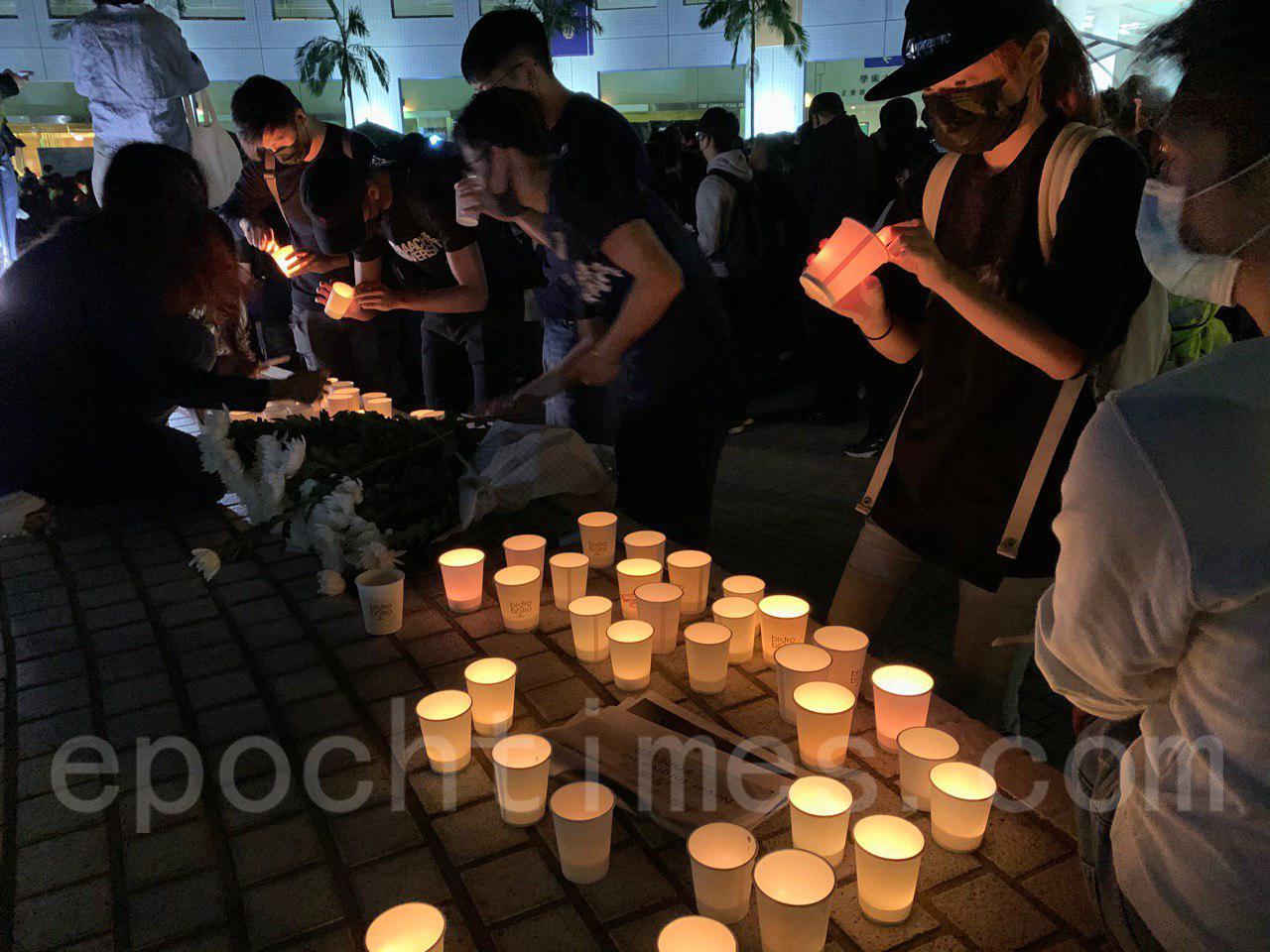 10月8日,科大生周同學在醫院不治去世,有市民發起「全城悼念周同學」活動。圖為科大校園(韓納/大紀元)