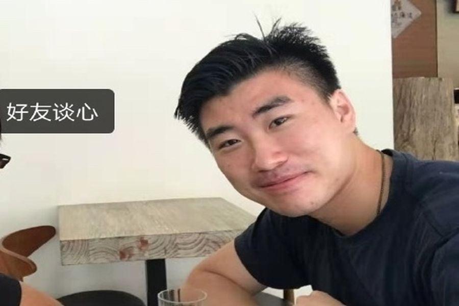 香港大學音樂系大陸生陳子謀被判刑6周。(微博截圖)