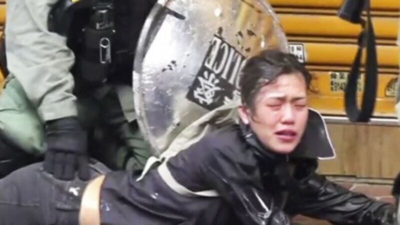 港警在鎮壓香港抗爭市民時,被指涉嫌性侵,性暴力等違法行經,引起香港社會強烈譴責。(擷取自立場新聞臉書)