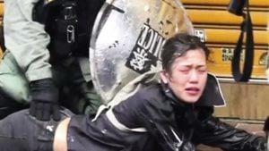 網友爆料 有女抗爭者被警察輪姦懷孕