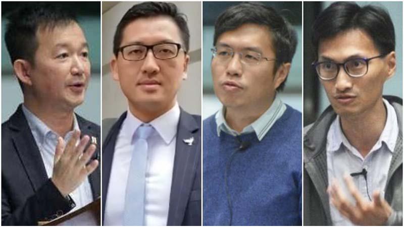 11月8日晚,至少7名泛民主派立法會議員被捕或被預約抓捕。(網絡圖片)