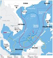 外媒:南海仲裁攤牌後 中美會開戰嗎?