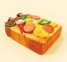 多士變睡床 日本人趣味創意無極限