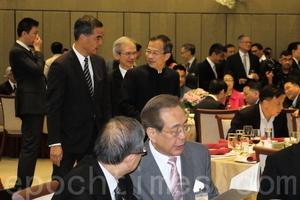 【圖片新聞】立法會辦惜別晚宴 主席曾鈺成感謝各界支持
