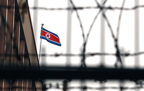 英國開始凍結在倫敦東南部的一家北韓公司資產,理由是此公司向北韓核武計劃提供資金。(Stephen Shaver/Polaris)