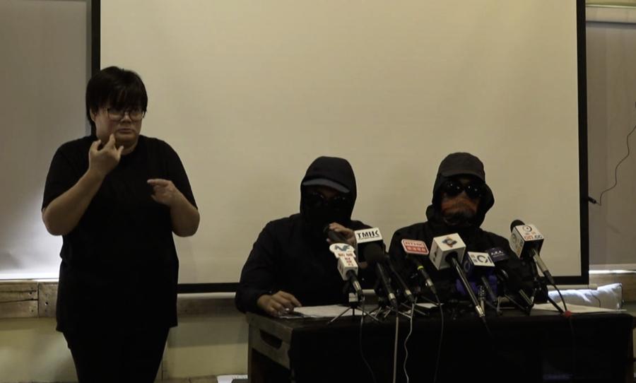 港警開真槍用車撞人 民間記者會:推翻暴政