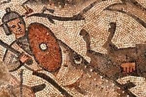 以色列發現罕見諾亞方舟鑲嵌畫
