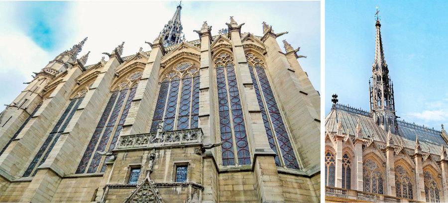 壯麗的巴黎聖禮拜堂