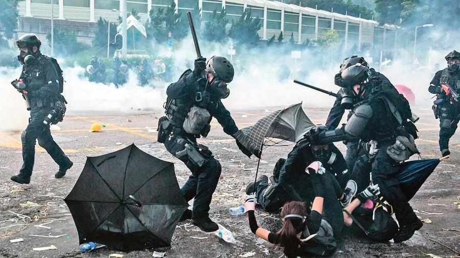 獨家 港府企圖破解社交媒體 蒐集抗議者身份