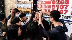 香港322個中學生組織誓言:50年也奉陪到底