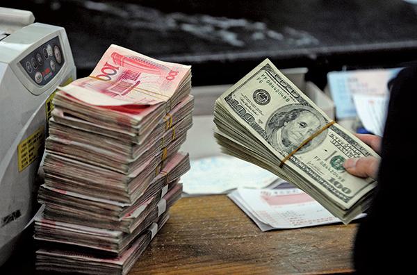 有分析員表示,中美貿易談判前景不明,人民幣將加大雙向震盪。(Getty Images)