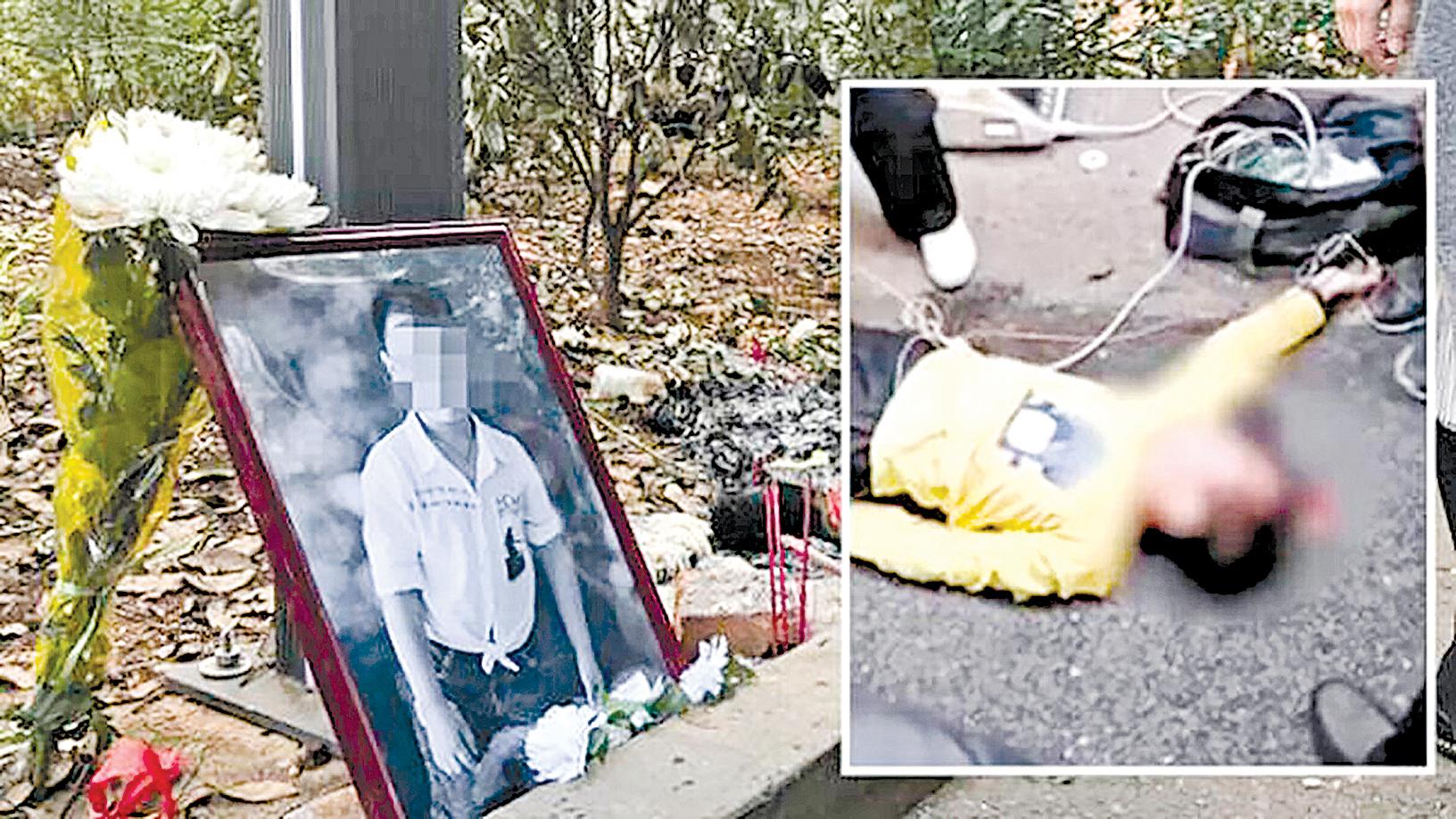 日前,湖南長沙9歲男童羅棋在小區內遭一陌生男子殘忍毆打長達半個小時致死,過程中100多人圍觀,卻沒有一個人伸出援手。(合成圖片)